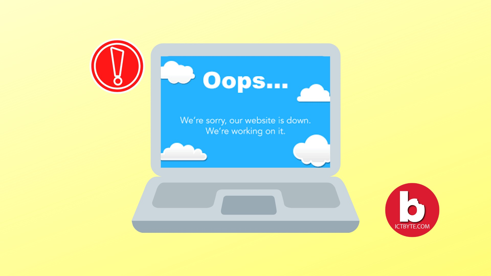 YOUR WEBSITE IS DOWN