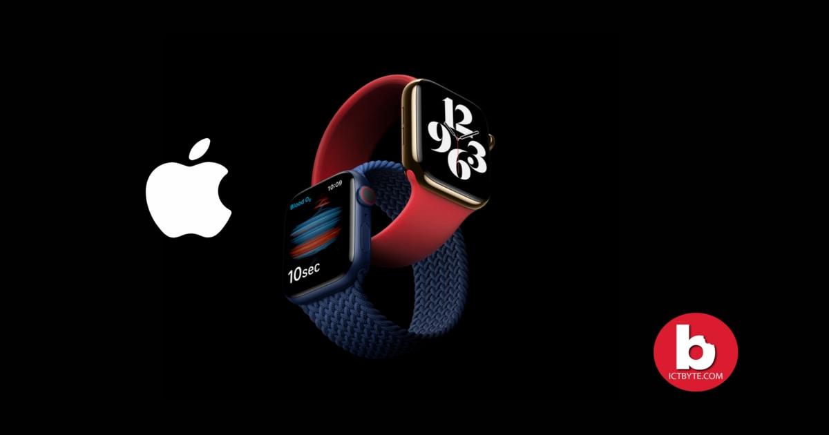 apple watch series 6 new