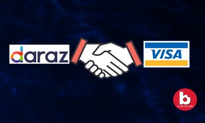 daraz and visa card