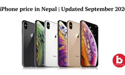iPhone price in Nepal Updated September 2020