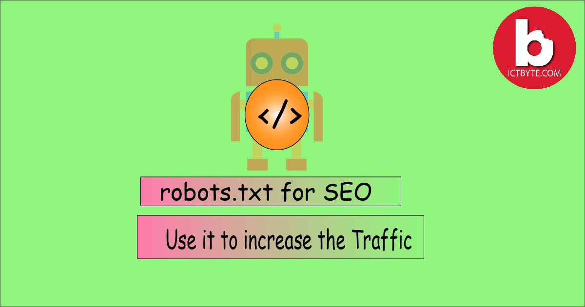 robots.txt file for SEO