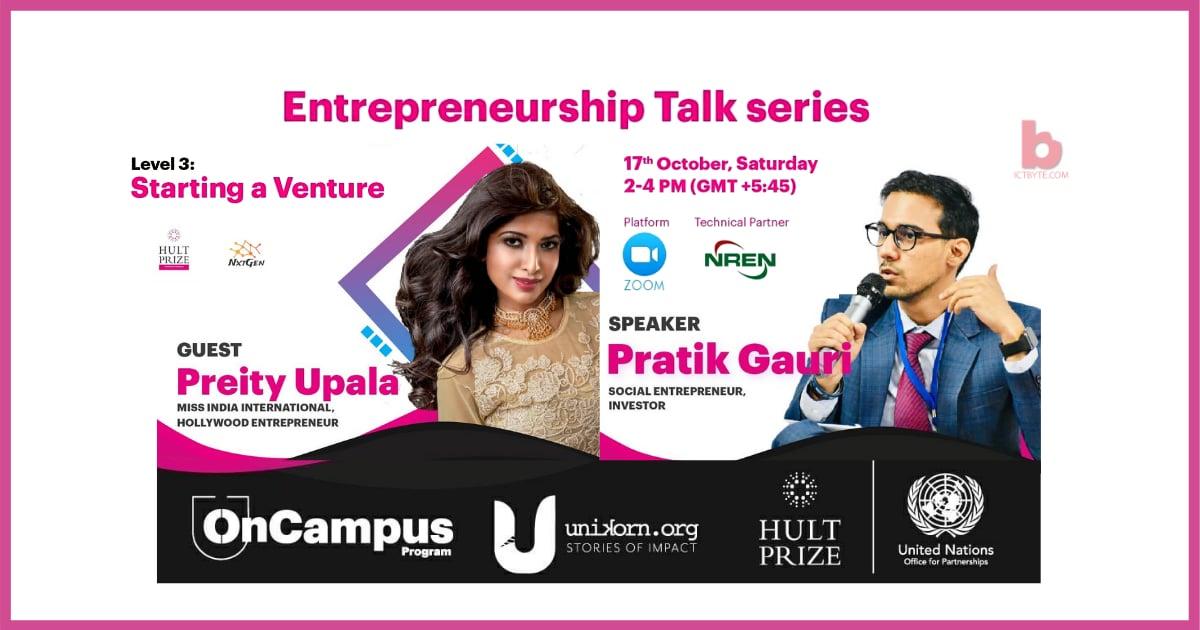 Level 3 of Entrepreneurship talk series