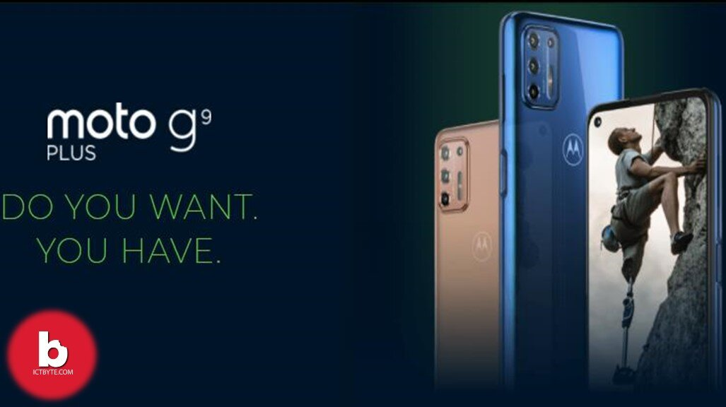 Motorola Moto G9 Plus price in Nepal