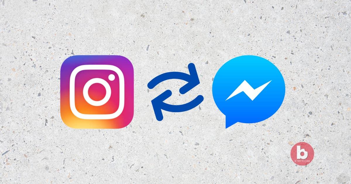 Send messages through Instagram in Facebook Messenger