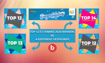 Top 12 ICT Award 2020 Winners in 4 Different tech Categories