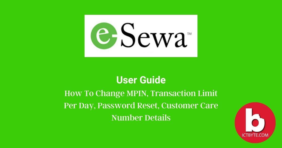 esewa user guide