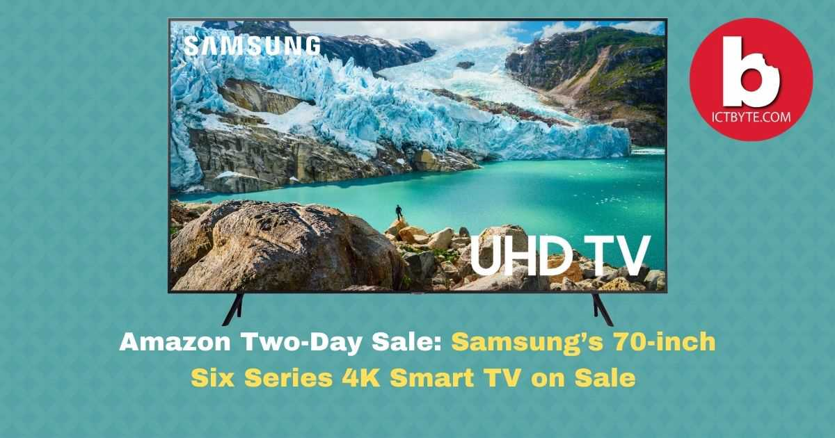 Samsung 70-inch Six Series 4K Smart TV