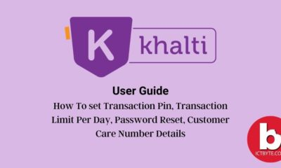 khalti user guide