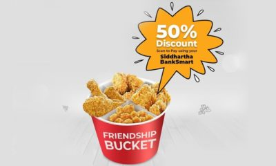 KFC 50 % Discount