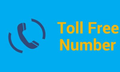toll-free number of internet service providers