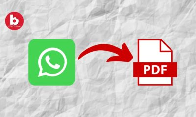 Export WhatsApp Chat As PDF