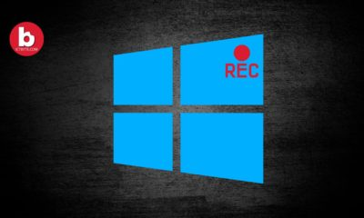 Record Screen in Windows 10 For Free Without Any Software