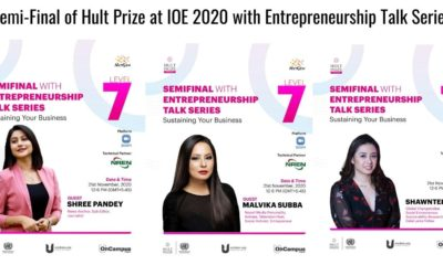 Semi-Final of Hult Prize at IOE 2020 with Entrepreneurship Talk Series
