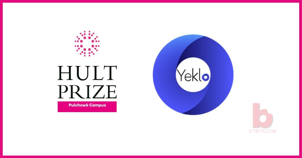 Yeklo Partner of the Hult Prize at IOE 2021