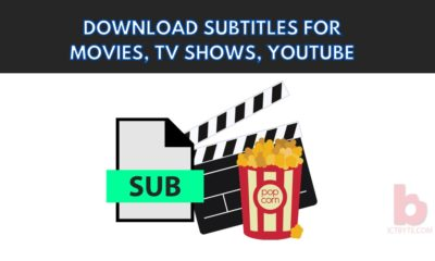 download subtitles for Movies, TV Shows, YouTube