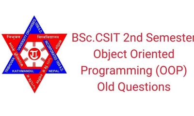 BSc.CSIT Second semester OOP Questions