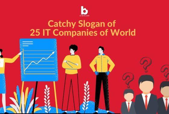 CATCHY SLOGAN OF IT COMPANIES OF WORLD