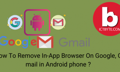 How To Remove In-App Browser On Google, G mail in Android phone