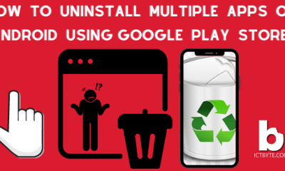 How To Uninstall Multiple Apps On Android Using Google Play Store