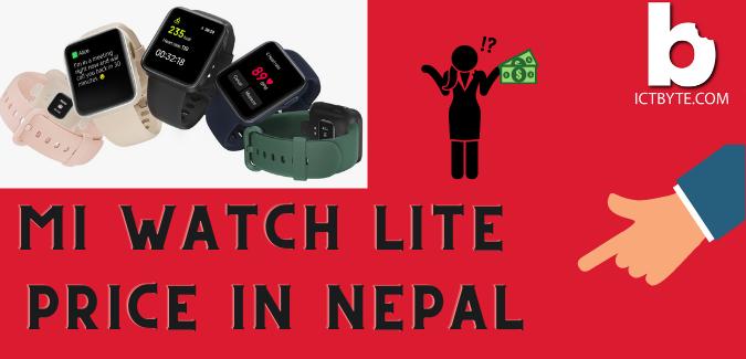 MI watch Lite price in Nepal