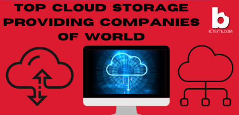 top 10 cloud storage providing companies