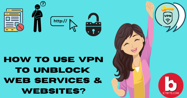 How To Use VPN To Unblock Web Services & Websites