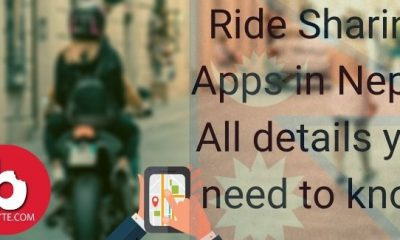 Ride Sharing Apps in Nepal. All details you need to know