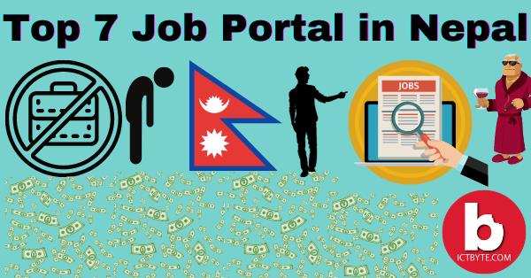 Top 7 Job Portal of Nepal