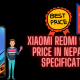 Xiaomi Redmi 9 Power Price in Nepal With Specifications