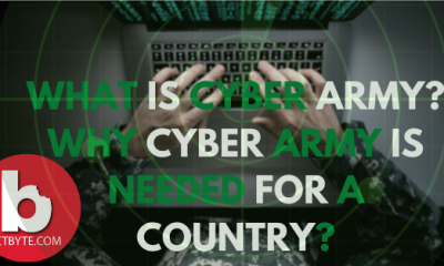 What is cyber army? Why cyber army is needed for a country?