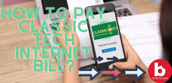 How to pay classic tech internet bill