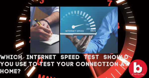 Which internet speed test should you use to test your connection at home