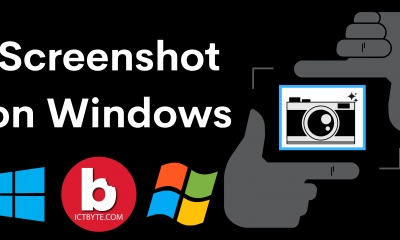 How to take screenshot on Windows ?