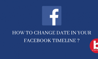 Change timeline date of your Facebook(1)