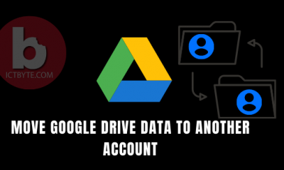 MOVE GOOGLE DRIVE DATA TO ANOTHER ACCOUNT