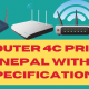 MI Router 4c price and specification in nepal.