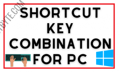 keyboard Shortcuts for your Computer