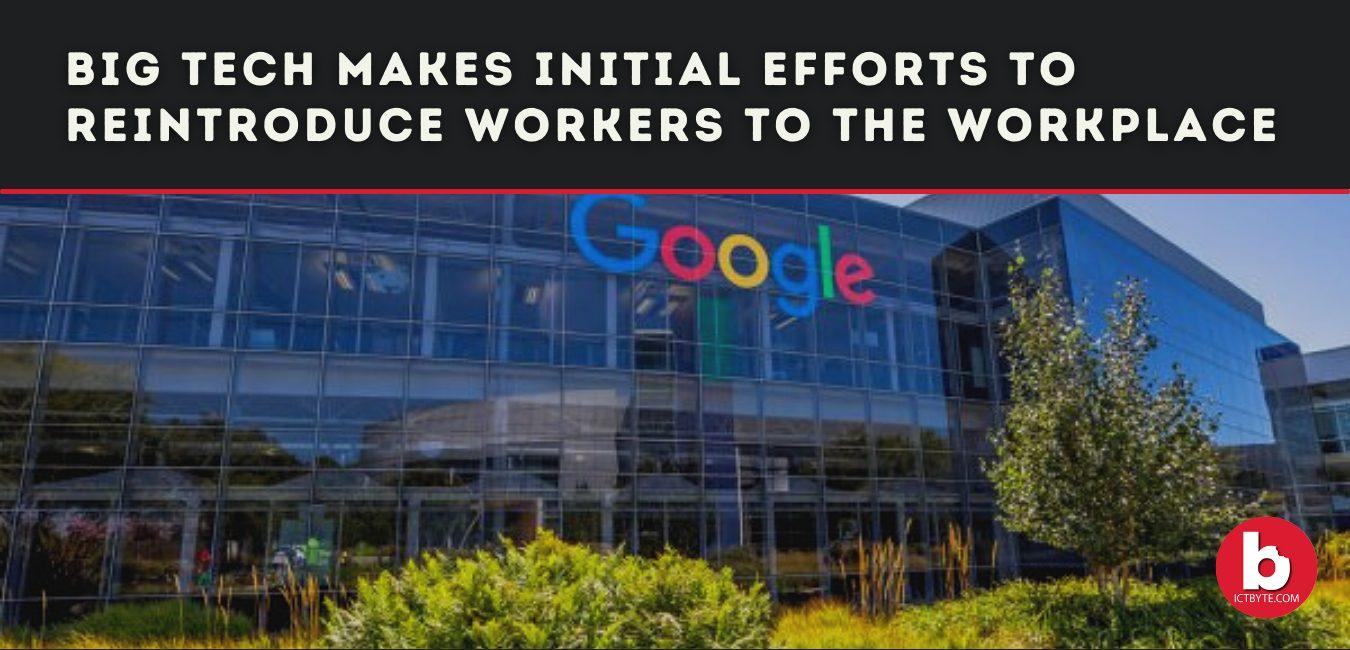 Big tech reintroduce workers