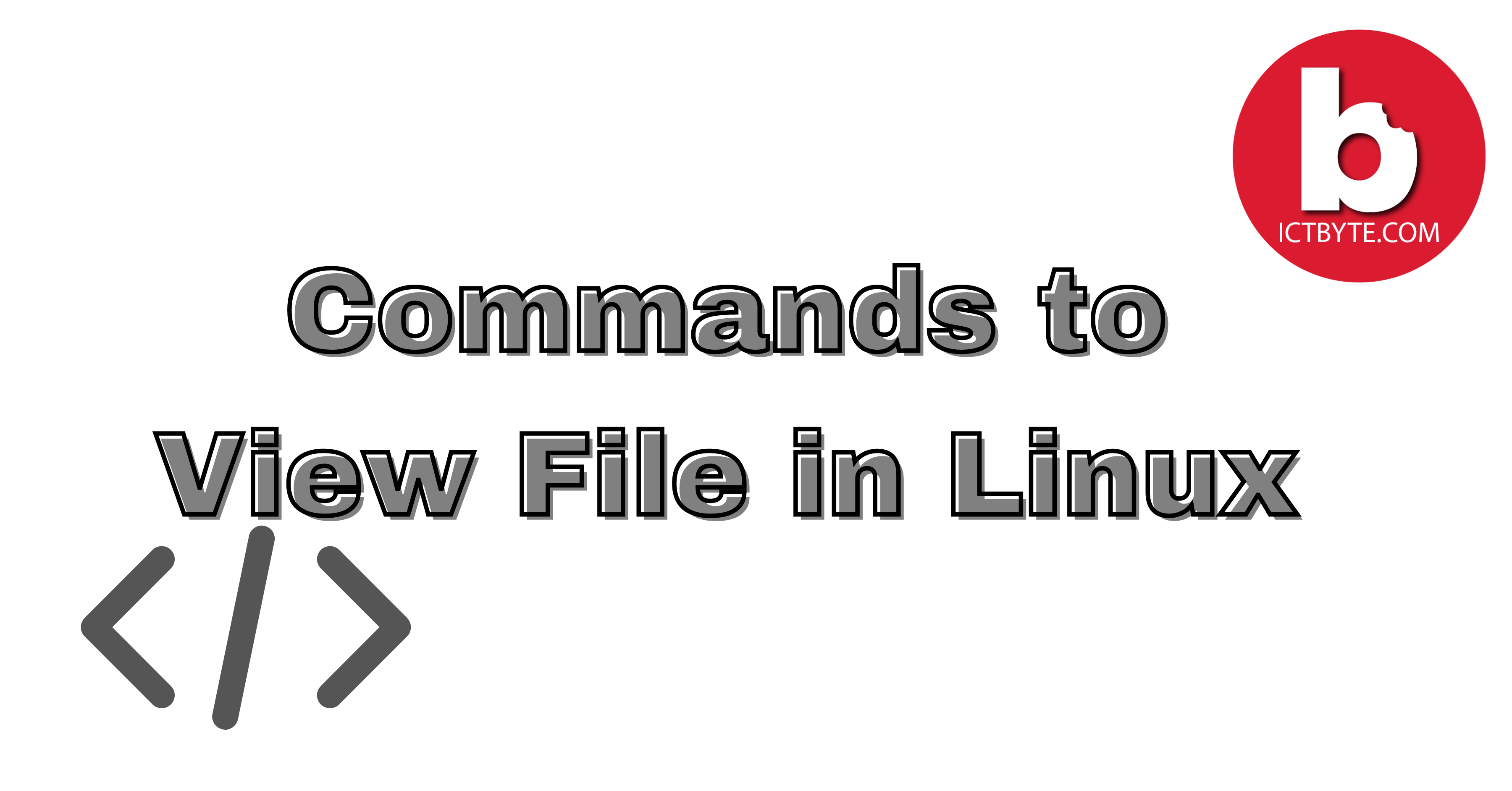 Commands to View File in Linux