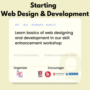 Web Design and Development Workshop by UNICTS