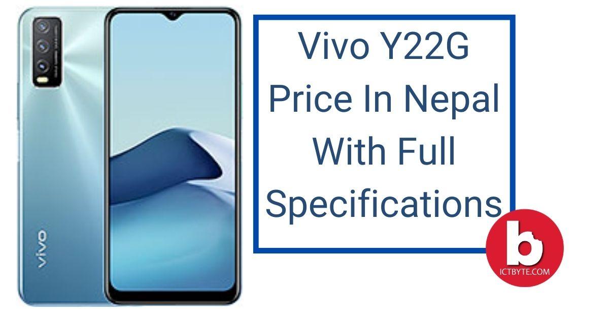Vivo Y22G Price In Nepal