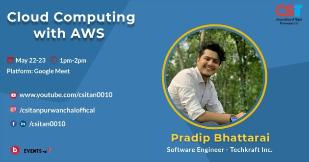 cloud computing event by CSITAN Purwanchal