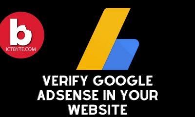 verify Google AdSense in your website