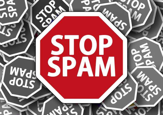 stop spam mail