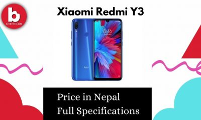 Xiaomi Redmi Y3 Price in Nepal With Full Specifications.
