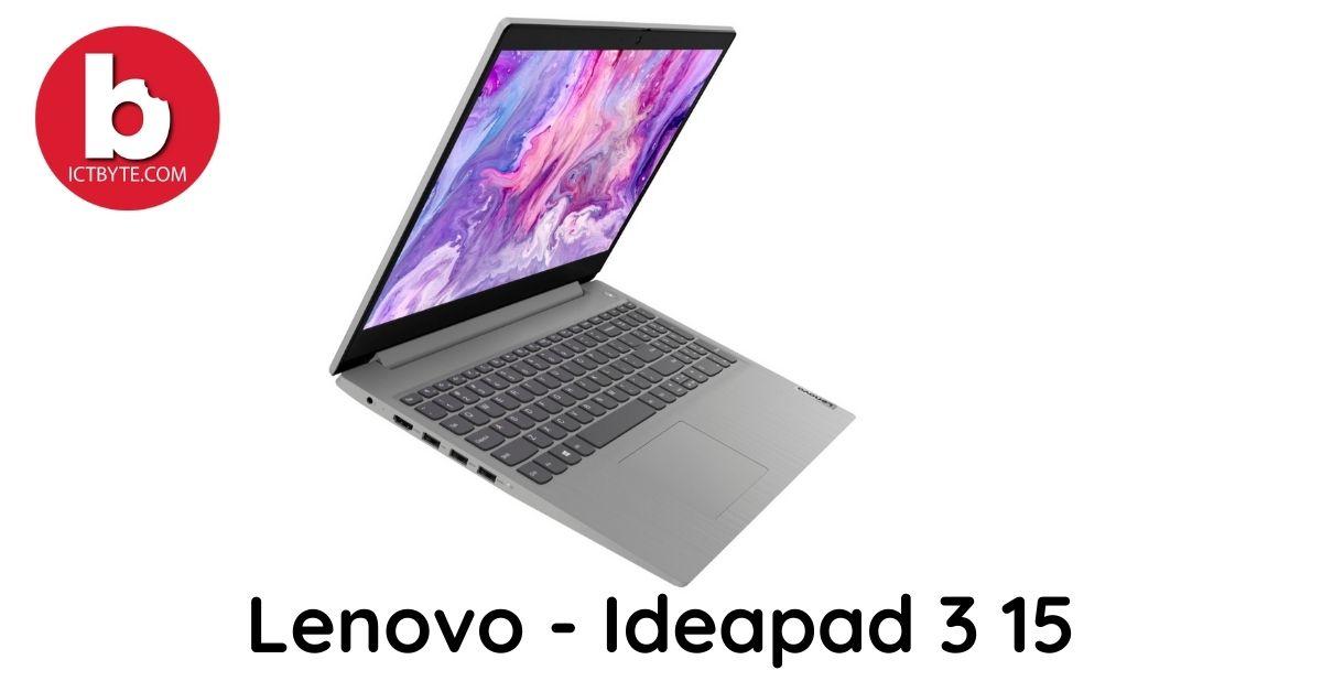 Lenovo - Ideapad 3 15