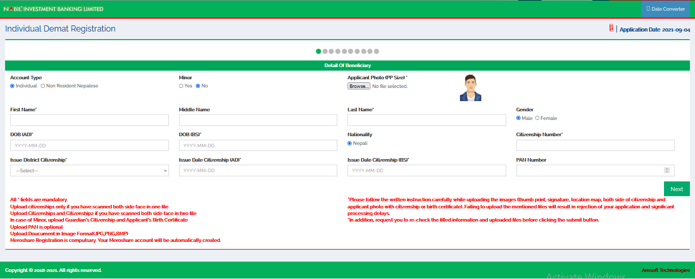 How to Open Online DEMAT Account From Nepal